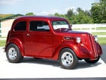 1948 ford anglia red