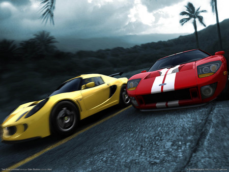 Test Drive Unlimited - sportcar, hd, race, car, video game, test drive, racing, road