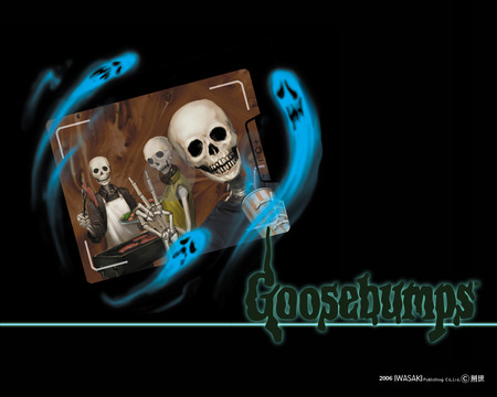 Goosebumps - ghosts, stories, skulls, goosebumps, books