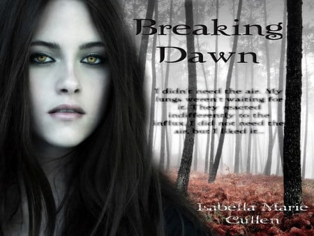 Breaking Dawn Bella Swan - breaking dawn, twilight, bella swan