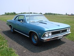 1966 chevy Chevelle blue