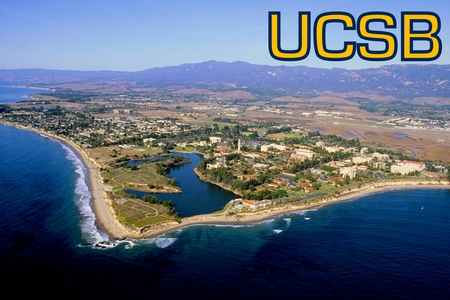 University of California: Santa Barbara - campus, uscb, university, santa barbara, air view