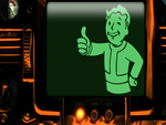 Orange Pipboy w/green screen