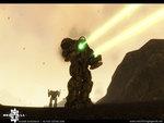 Atlas Battlemech Firing Lasers