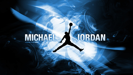 Jumpman Blue - micheal jordan, jumpman, blue, 23
