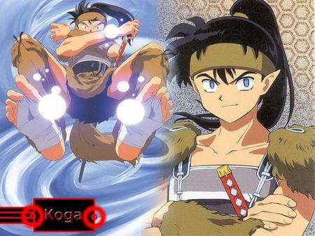 Koga Inuyasha Anime Background Wallpapers On Desktop Nexus