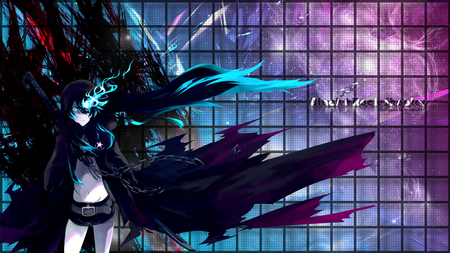 Black Rock Shooter Wallpaper - black, rock, wallpaper, shooter