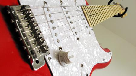 Guitar Macroshot - entertainment, guitar, music, electric