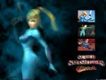 Zero Suit Samus - Super Smash Bros