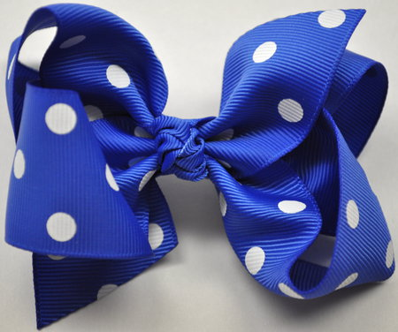 Blue Bow - cute, girls, bows, blue