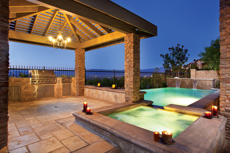Just Relax! - view, barbque, gazebo, spa, pool