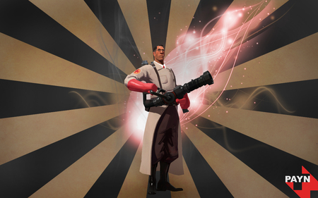 TF2 Medic - team fortress 2, medic, tf2, red cross