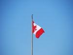Canadian Flag Pole