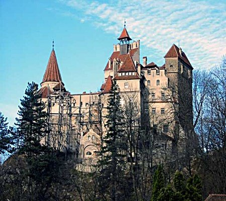 Count Vlad's Castle - Photography & Abstract Background ...