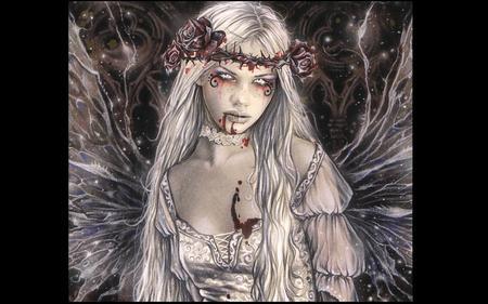 Victoria Frances-Gothic Angel - vampire, gothic, victoria frances, angel