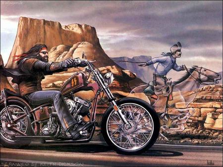 Harley Outlaw - harley