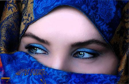 royal blue veil   models female amp people background