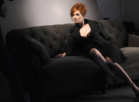 Christina Hendricks - model, actress, people, striking, beautiful, voluptuous, sexy