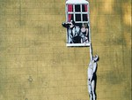 Banksy Almost Caught