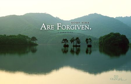 You Are Forgiven - mountans, bible, forgiven, mist