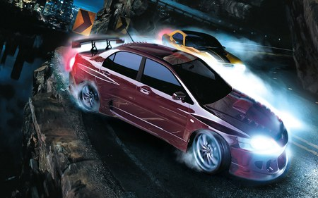 NFS-Carbon - car, fast, adventure, video game, hd, speed, racing, nfs, need for speed-carbon, need for speed, sportcar, 2006