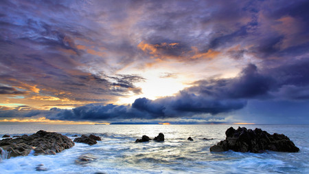 Beautiful Ocean Scenery