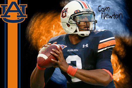 Cam Newton Auburn - newton, cam, gators, quarterback, ncaa, university, auburn, cameron, football, qb, 2