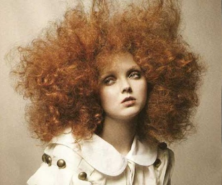 Bad Hair Day - beauty, fantasy, girl, redhead, cute