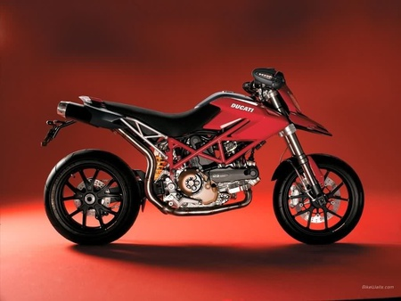 Hypermotard - cross, hyper, rapid, black, red