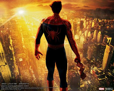 spiderman 2 wallpapers spidie from the back  - spiderman 2, spiderman