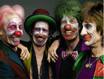Rolling Stones Clowns