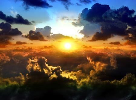 Sunset Clouds - Sunsets & Nature Background Wallpapers on ...