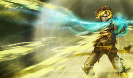 League of Legends - Ezreal - league, legends, ezreal, riot, league of legends