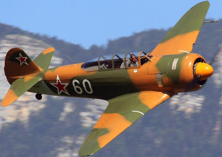 Yak 11 - world war two, soviet air force, yakovlev, yak 11