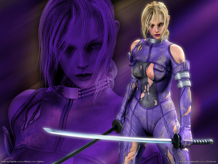 HOT NINA - williams, fighter, video game, game, women, yellow hair, fantasy, anime, hot, dream, fairy, art, angel, abstract, nina williams, tekken, 3d, girl, death by degrees, nina