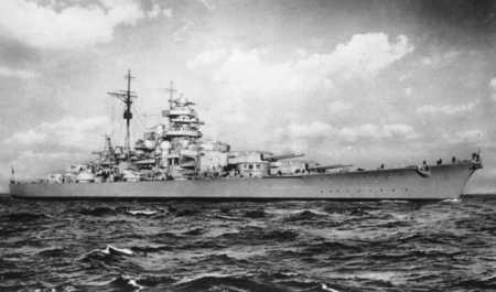 Battleship Bismarck - german, war, germany, ww2, kriegsmarine, guns, gun, bismarck, battleship, warship, navy