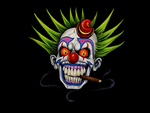 Smoking Clown