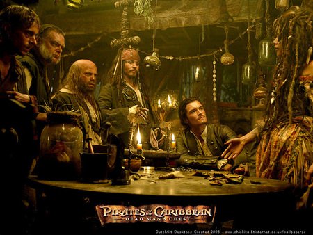 PIRATES OF THE CARIBBEAN - pirates, sparrow, will, jack