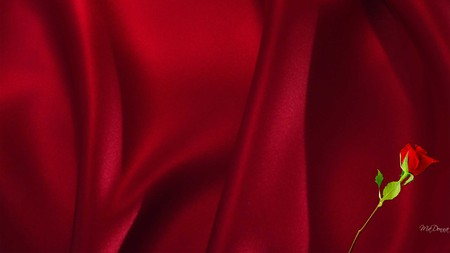 Red Satin Sheets Other Abstract Background Wallpapers On