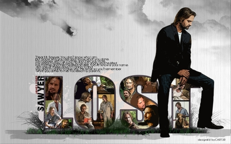 Sawyer is Lost - sawyer, lost movie, the lost, lost