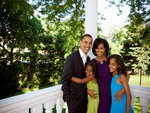 President Barack Obama and Family