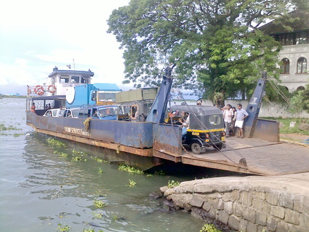 Cochin ferry service - cochin, boat, ferry, transport, technology