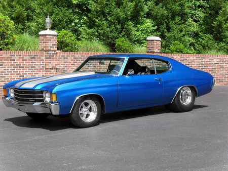 1972 Chevelle Pro Street - muscle, car, chevelle, chevy, classic