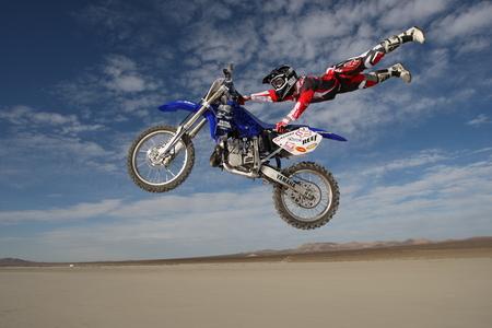 Motorcrossing At Desert - yamaha, motorcross, photography, sport, desert