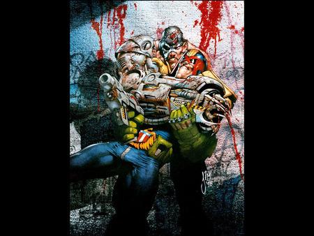 Judge Dredd - dredd, judge, fantasy, comic