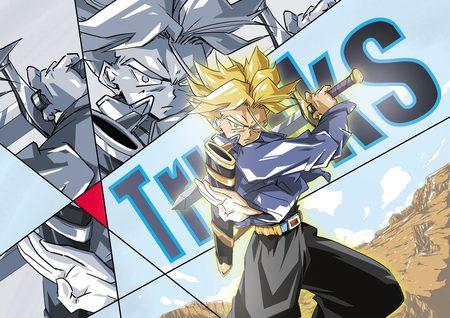 Dragon Ball Super Trunks Wallpaper Gambarku