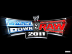 SMACKDOWN VS RAW 2011 LOGO WALLPAPER