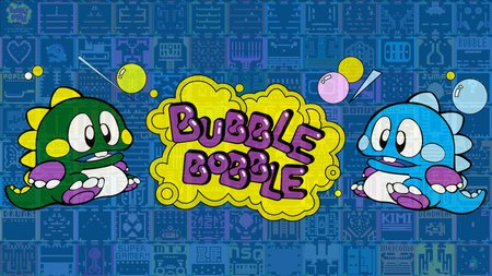 Bubble Bobble - classic, retro game, bubble bobble, bub, bob