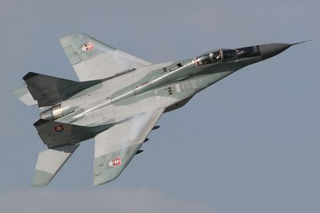 Mig-29 (Slovakian Air Force) - slovakian air force, mig 29, jet fighter, mikoyan