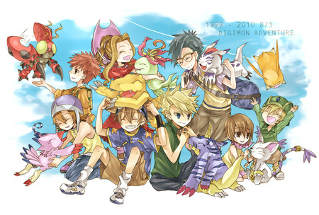 digimon two zero - mosnter, beautiful, human, digimon